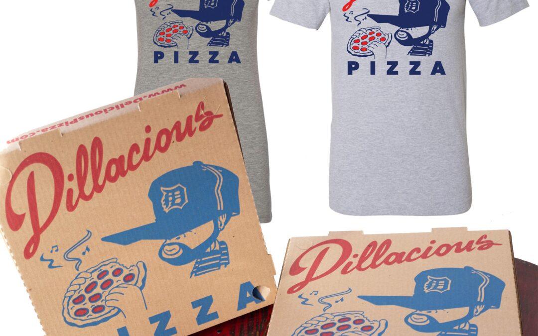 Dillacious Pizza Box & T-Shirt Bundle – Men's or Women's Sizes