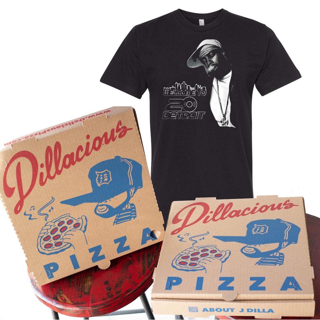 Dillacious Pizzabox Welcome2Detroit Bundle
